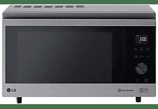 Microondas - LG MJ3965ACS, 39 L, 4 en 1, Horno, Grill, Multifunción