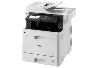 Impresora multifunción - Brother MFC-L8900CDW, WiFi, Fax, Bloqueo seguro, NFC