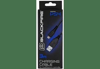 Accesorio PS4 - Ardistel DUALSHOCK 4, Cable de carga USB a MicroUSB, 3 m