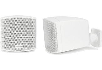 Altavoces - Fonestar CUBE-62B, 12W, color blanco