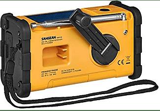 Radio portátil - Sangean MMR-88, FM, AM, Emergencia, Manivela, Solar, USB