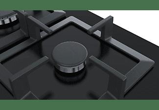 Encimera - Bosch PPC6A6B20, Vitrocerámica, Gas, 3 quemadores, Negro