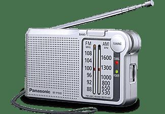 Radio portátil - Panasonic RF-P150D, Sintonizador digital, AFC, Color plata