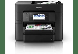 Impresora multifunción - Epson WorkForce Pro WF-4740DTWF, 4 en 1, Impresión a doble cara, NFC,
