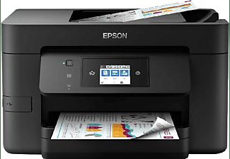 Impresora multifunción - Epson WorkForce Pro WF-4725DWF, Wi-Fi, NFC, Ethernet, Negro