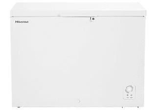 Congelador horizontal - Hisense FT403D4AW1, 306 L, 83 cm, Función dual, Blanco