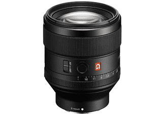 Objetivo - Sony SEL85F14GM, Teleobjetivo, 85 mm, 107.1mm, Apertura máxima F1,4, Negro