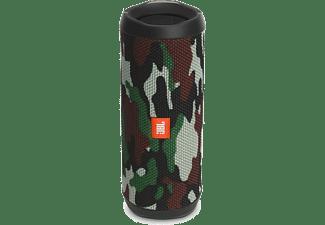 Altavoz inalámbrico - JBL Flip 4 Edición especial, 16W, Bluetooth, Squad