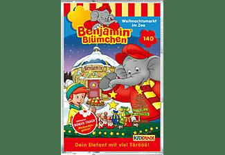 Benjamin Blümchen - Folge 140: Weihnachtsmarkt im Zoo  - (MC)
