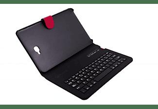 """Funda con teclado Bluetooth para Samsung Galaxy Tab A de 10.1"""" - Silver HT 111936940199, rojo"""