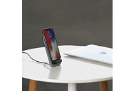 XLAYER Wireless Charger Desktop, Induktive Ladestation, Grau