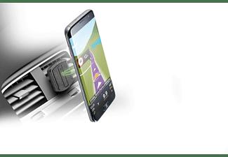 Soporte de coche para móvil - Cellular Line Handy Force Drive, Soporte pasivo, Negro