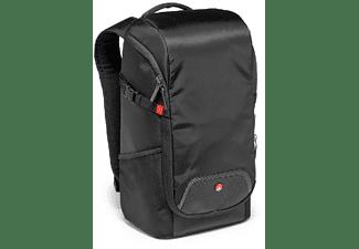 Mochila - Manfrotto Advanced Compact 1, Para cámara, Nylon, Negro