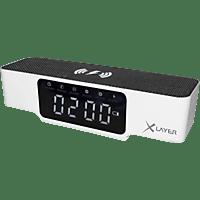 XLAYER 215766, Digitaluhr, Weiß