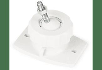 Soporte altavoces - Fonestar SAL-615BW, de pared, Orientable, Blanco