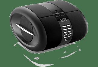 Altavoces inalámbricos - Suntech, SENSEBTBK, Radio, Bluetooth, Negro