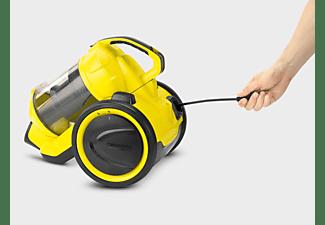 Aspirador sin bolsa - Kärcher VC 3, Potencia 700 W, Capacidad 0.6 L, Filtro HEPA