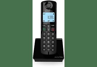 Teléfono - Alcatel S250 DECT, Identificador de llamadas, Negro