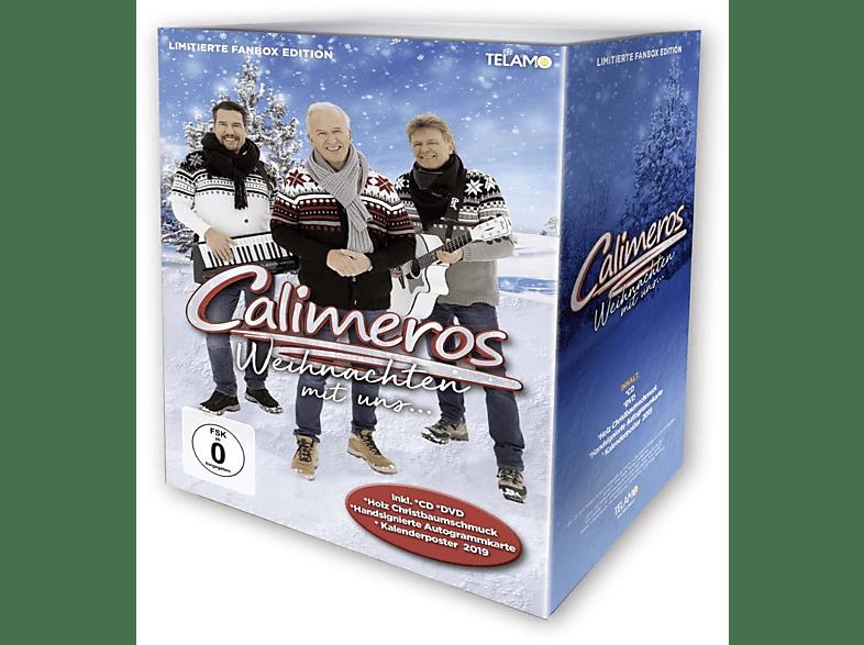 Calimeros - Weihnachten Mit Uns (Limitierte Fanbox Edition) [CD + DVD Video]