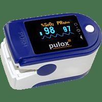 PULOX PO-200 Solo, blau Pulsoximeter