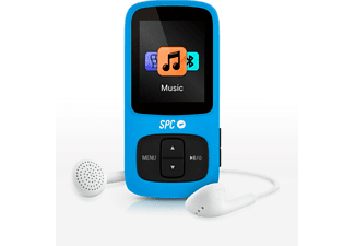 Spc Internet Reproductor Mp3 - SpcInternt 8578A 8Gb Azul, Bluetooth