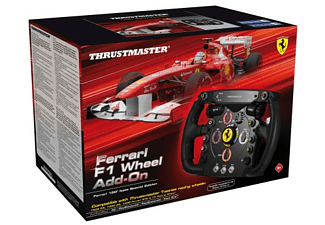 Volante - Thrustmaster Ferrari F1 Wheel Add-On, réplica con licencia de Ferrari, Para PC, PS3, PS4