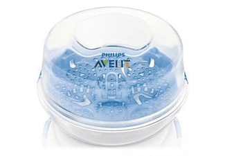 Esterilizador - Philips SCF281/02, Para 4 biberones de Philips Avent, Para Microondas