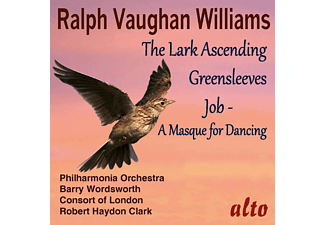 Barry Wordworth, Consort Of London, Philharmonic Orchestra, Clark,Robert,Haydon - The Lark Ascending - Greensleeves - Job  - (CD)