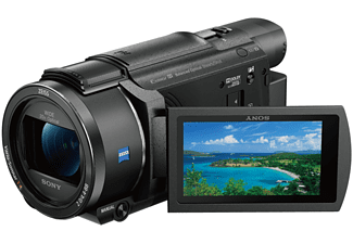 Videocámara - Sony FDR-AX53 4K, WiFi, NFC, 20x, Negro