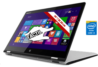 Lenovo 2 En 1 Convertible -Lenovo Yoga 3 I3-5005U, 128Gb Ssd Y Nvidia  940A 2Gb