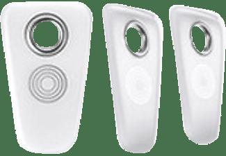 SOMFY Badge-Leser Smartes Türschloss Schlüsselanhänger, Weiß/Silber