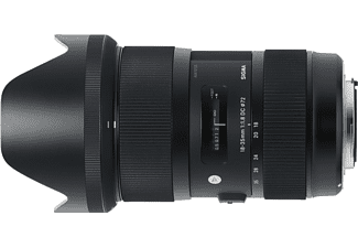 Objetivo - Sigma SIAU 440, 18-35 mm, 121mm, DC HSM EOS, F1.8, Zoom angular, Para Canon