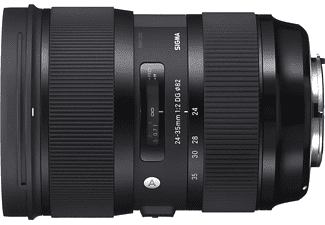 Objetivo - Sigma SIAT 601, 24-35 mm, 122mm, DG HSM NA, F2, Zoom angular, Para Nikon