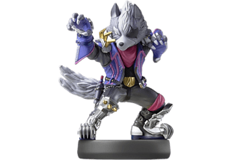 NINTENDO amiibo No. 63 Wolf (Super Smash Bros. Collection) Figura del gioco