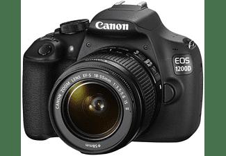 Cámara Réflex - Canon EOS 1200D + 18-55 mm f/3.5-5.6 IS II