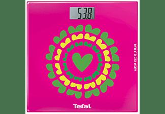Báscula de baño - Tefal Marigold Agatha PP1123VO  Peso máximo 160kg, Precisión de 100g, Display LCD