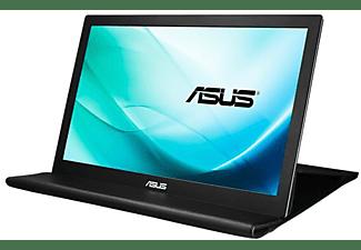 "Monitor portátil - ASUS MB169B+, 15.6"", Full HD, IPS, ultrafino, giro automático, Negro y Plata"