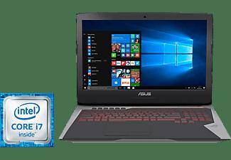 """Asus Portátil Gaming - Asus RogG752Vm-Gc005T, I7-6700Hq, 17.3"""", Gtx1060, 1Tb Sata + 128  Gb Ssd"""