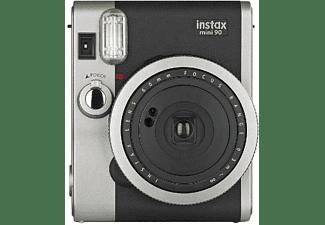 Cámara instantánea - Fujifilm Fuji Instax Mini 90 Bk, 62x46mm, Negro