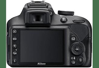 Cámara Réflex - Nikon D3400, Sólo cuerpo, 24.2 Mpx, Snapbridge, Negro