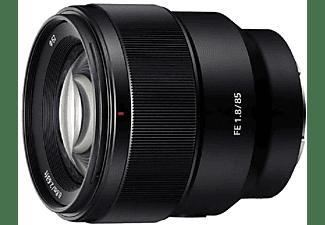 Objetivo EVIL - Sony SEL85F18.SYX, 85mm, f/1.8, retratos, efecto bokeh, Negro