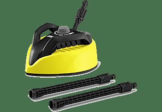 Limpiador de vapor - Kärcher T Racer 450, Dos boquillas, Efecto aerodeslizador, Negro y amarillo