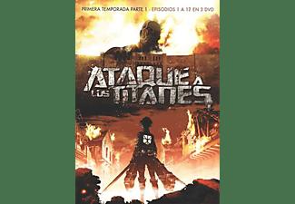 Ataque a los titanes temporada 1 - DVD