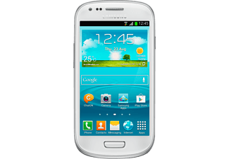 Móvil - Samsung Galaxy S3 Mini Blanco de 4 pulgadas y 5 Megapíxeles