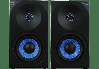 Altavoces - Woxter Dynamic Line DL-410, 150 W, Negro y azul