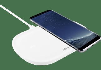 XLAYER Triple Induktive Ladestation alle Geräte mit 5V Ladeinput, 5 Volt Wireless Output: 5W / 7.5W / 10W, Input USB Typ C: 45W, Weiß