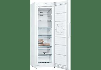 Congelador vertical - Bosch GSN33VW3P, 176 cm, No Frost, BigBox, 42 dB, 225 L, Blanco