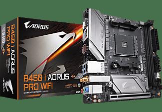 GIGABYTE B450 I Aorus PRO WIFI Mainboard Schwarz