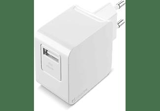 Cargador - Cellular line ACHUSBMFIIPH2AW, Para iPhone y iPad, Cable Lightning, 1 m, Blanco
