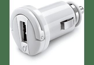 Cargador USB - Cellularline MICROCBRUSB2AW Auto Blanco cargador de dispositivo móvil